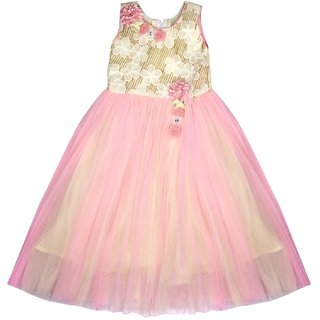 bd18aa703666 Buy Arshia Fashions girls party dresses - sleeveless - Party wear ...
