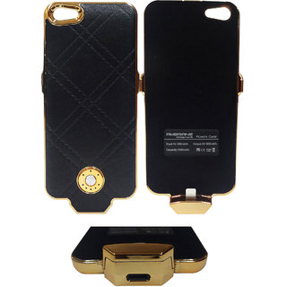 Ambrane Charging Case CC-52 for for IPhone5/5s (Black Color)