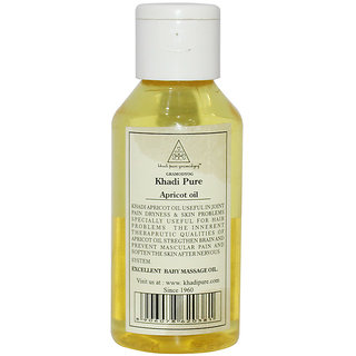 Khadi Pure Herbal Apricot Oil 100ml
