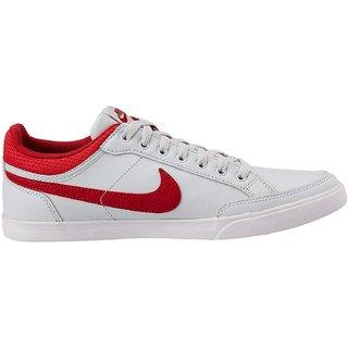 huge discount d89e9 fa15a NIKE CAPRI III LOW LTHR Men White Sports Shoes