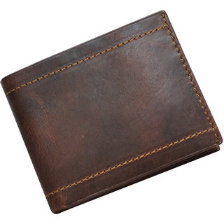 Knott Exclusive Brown Leather Wallet for Men