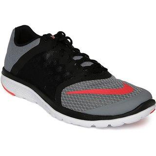 new product eb4af b0eed Nike FS LITE TRAINER 3 Men Black Sports Shoes