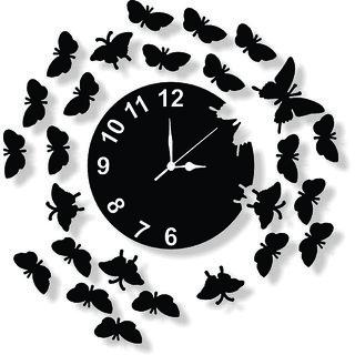ENA DECOR WALL CLOCK CLOCK037 MDF WOODEN