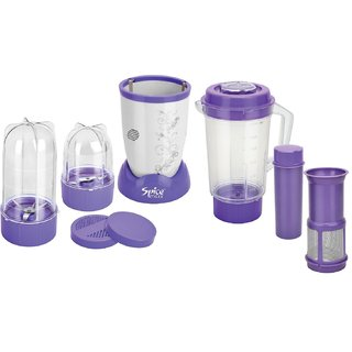 Spice Maxx 2 Jar with Juicer Attachment Power Bullet Mixer