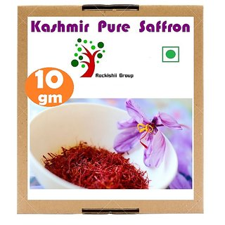 Kashmir Pure Saffron Kesar 10 gm Zafran Pure Stigma Mogra Kashmiri