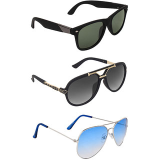 b2cd0c3ebc Buy Zyaden Combo of 3 Sunglasses Online - Get 79% Off