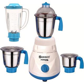 Sunmeet 750 Watts Mixer Juicer Grinder with 4 Jar (1 Juicer Jar without filter1 Large Jar and 1 Chuntey Jar) Direct Factory Outlet Save On Retailer margin.