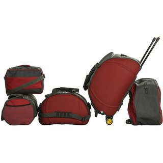 Combo Of 5 Travel Bags Prices in India- Shopclues- Online Shopping ...