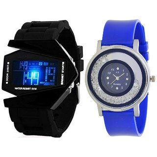 Combo Of Analog And Digital Watch For Girls And Boys
