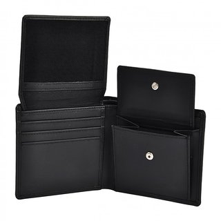 XAX Genuine Leather Men's Trifold Wallet