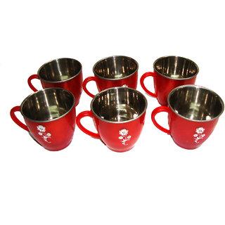 Tea coffee steel mini mug set of 6 pcs