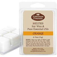 ORANGE 2.5oz Of 100% Pure & Natural Soy Candle Meltie/T