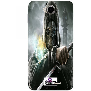 HIGH QUALITY PRINTED BACK CASE COVER FOR MICROMAX CANVAS JUICE4 Q382  DESIGN ALPHA13