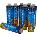 Xisom aqua 9 inch sediment 8 pc pack set for All Type Of R.O Water Purifier