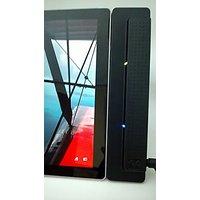 Microsoft Surface PRO 4 Compatible Docking Station by eTauro. Displayport, USB3 Hub, Charger, Gigabit ethernet.