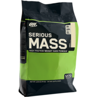 Optimum Nutrition (ON) Serious Mass - 12 Lbs (Vanilla)