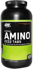 Optimum Nutrition (ON) Superior Amino 2222 - 320 Tablets
