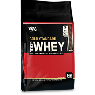 Optimum Nutrition 100 Whey Gold Standard 10 Lbs (Double Rich Chocolate)