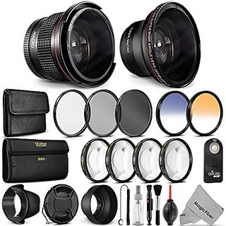 Buy 52mm Professional Accessory Kit For Nikon Dslr Bundle With