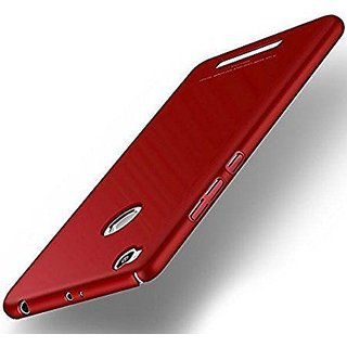 iPAKY M Sleek Rubberised red Hard Case Back Cover For 3S PRIME