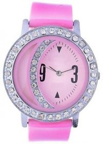 Glory Pink Fancy Diamond Fancy Letest Moon Round Collec