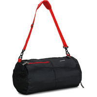 Novex Black  Red Nylon Small (Below 60 Cms) Gym Bag