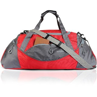 e132eae4d3 Buy Novex Lite Red Travel Duffel Bag Online - Get 55% Off