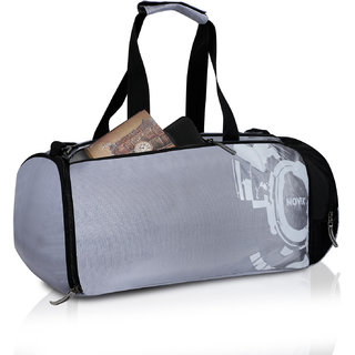 0846036299c Buy Novex Rove Grey Travel Duffel Bag Online - Get 53% Off