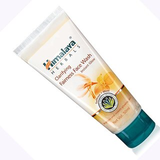 Himalaya Herbals Clarifying Face Wash Instant glow 50ml x 2 Pack