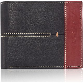 Laurels Bloke II Black Color MenS Wallet (Lw-Blk-II-0210)
