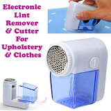 Gadget Hero's New Portable Electric Fuzz Pill Lint Remover Shaver Cutter For Fabric & Clothes AA Battery Operated.