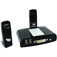Cables Unlimited DisplayDock Wireless USB Docking Station with Video for PC