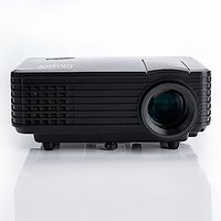 BAALAND H1 LED LCD (WVGA) Mini Video Projector - Intern