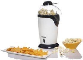 Nova Hot Air Popper NPM-3772 8.4 L Popcorn Maker  (White)