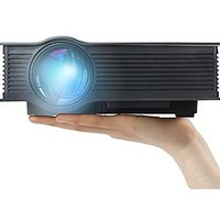 LED Projector(Warranty Included), ERISAN ER40B Max 130""