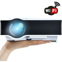 WiFi Wireless Projector (Warranty Included), Support HD