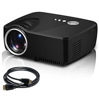 V2 LED LCD (WVGA) Mini Video Projector - International