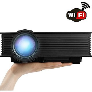 ERISAN 1200 Lumens LCD Mini Projector (Warranty Include