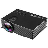 Rienar 1200 Lumens Portable Led Projector, Multimedia M