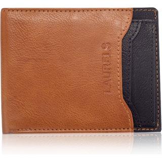 Laurels Martian Tan Color MenS Wallet With Additional Card (Lw-Mrtn-0602)