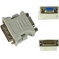 DVI Male To VGA Female Adapter VGA Converter DVi 24+5