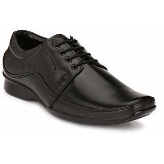 Eego Italy MenS Black Lace - Up Smart Formal Shoes