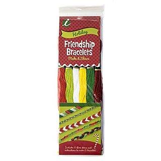 Iris Holiday Friendship Bracelets Floss Pack 6 Pkg