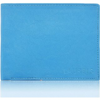 Laurels Urban III Blue Color MenS Wallet (Lw-Urb-III-03 )