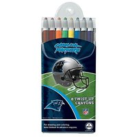 Carolina Panthers Twist-up Crayons, 8 Pack - NFL (12018-QUD)