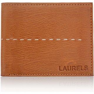 Laurels Handmade Arrow Beige Color MenS Wallet (Lw-Arw-06)