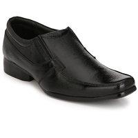 Eego Italy Men'S Black Slip -On Smart Formal Shoes - 118654542