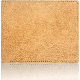 Laurels Handmade Imperial Beige Color MenS Wallet (Lw-Imp-06)