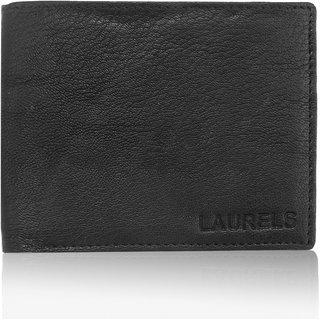 Laurels Handmade Imperial Black Color MenS Wallet (Lw-Imp-02)