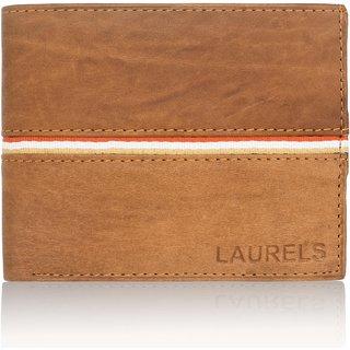 Laurels Handmade Phillipe Beige Color MenS Wallet (Lw-Phlp-0610)